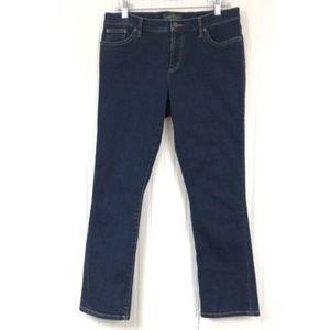 Ralph Lauren Petite 10 10P L28 Straight Leg Jeans